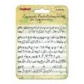 Фоновый штамп Музыкальный Ряд, 10.5х10.5 см, ScrapBerry's, SCB4901017