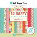 Набор бумаги So Happy Together, 12 листов, 15х15 см, Echo Park, SH32023