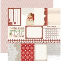 Лист картона Santa's List - Notecards, Teresa Collins, SL1001