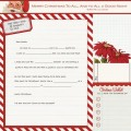 Лист картона Santa's List - Santa's Letter, Teresa Collins, SL1002
