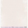 Лист односторонней бумаги 30x30 Дымка из коллекции Сиреневые мечты, Scrapmir, SM0400009