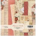 Набор односторонней бумаги 20х20см Музыка Любви, Scrapmir, SM1300016