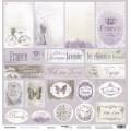 Лист бумаги French Provence - Карточки, Scrapmir, SM1600010