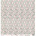 Лист односторонней бумаги 30x30 Совушка из коллекции Baby Girl, Scrapmir, SM1800002