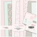 Набор односторонней бумаги 20х20см Baby Girl, Scrapmir, SM1800016