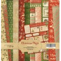 Набор односторонней бумаги 30х30см Christmas Night, Scrapmir, SM2000013
