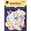 Набор высечек для скрапбукинга Birthday Partyr, 41 шт, Scrapmir, SM2200014