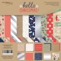 Набор двусторонней бумаги 20х20см Hello Christmas, Scrapmir, SM2900016
