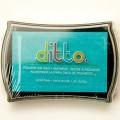 Штемпельная подушечка Ditto Pigment Aqua, Hampton Art, SP7847