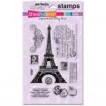 Силиконовые штампы Eiffel Tower, Stampendous, SSC-1121