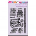 Силиконовые штампы Air Travel Perfectly, Stampendous, SSC1166