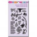 Набор акриловых штампов Trees and Leaves,19.5х11.5 см, Stampendous, SSC1176