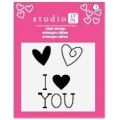 Штампы I Love You 1, Studio G, SV0001