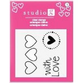 Штампы With Love, Studio G, SV0002