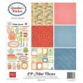 Набор бумаги Grandma's Kitchen Mini Theme, 30х30 см, Echo Park, SW2305