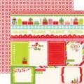 Лист картона Happy Holidays Journaling, Echo Park, SW2602