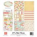 Набор  бумаги Sisters Mini Theme, 30х30 см, Echo Park, SW2805
