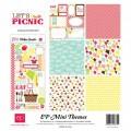 Набор бумаги Let's Picnic Mini Theme, 30х30 см, Echo Park, SW3505