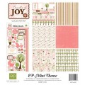 Набор  бумаги Bundle Of Joy Mini Theme, 30х30 см, 6 листов и 1 лист наклеек, Echo Park, SW605