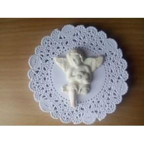 Декор пластиковый Ангел с сердцем, PSC5