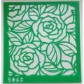 Трафарет-маска с клеевым слоем Розы, 5068