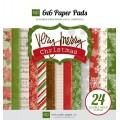 Набор бумаги Very Merry Christmas, 12 листов, Echo Park, VMC34023