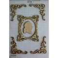 Набор декора Wood Flourishes-Frame with Flourishes, Китай, WF0001