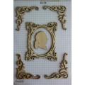 Набор декора Wood Flourishes-Frame with Flourishes, Китай, WF0001