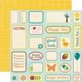 Бумага Element Card Paper, Echo Park, 30х30 см, WP2013