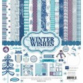 Набор бумаги Winter Wishes Collection Kit, 30x30 см, 12 листов, Echo Park, WW39016