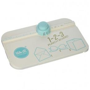 Доска для изготовления конвертов, коробок, подарочной упаковки 1-2-3 Punch Board, We R Memory Keepers