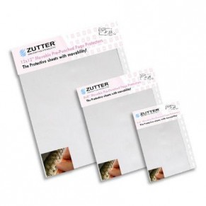 Прозрачные файлы для страниц альбомов на пружине Movable 20 × 20 Pre Punched page protector, Zutter, ZT7603