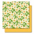 Бумага Lucille, Botanique, American Crafts, размер 30 х 30 см, ac001