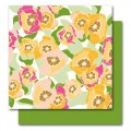 Бумага Gladys, Botanique, American Crafts, размер 30 х 30 см, ac003