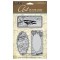 Набор резиновых штампов Journal De Voyage, Hero Arts, 3 шт, размер штампов от 4.5х9 до 4.5x9.5 см, AC009