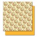 Двусторонний лист картона Evelyn, Botanique, American Crafts, 30x30 см, ac013