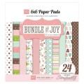 Набор бумаги Bundle of Joy Girl, 12 листов, размер 15х15 см, Echo Park , BJG45023