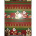 Бумага упаковочная новогодняя 74 х 52 см, №2