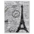 Резиновый фоновый штамп Newspaper Eiffel Tower, Hero Arts, 1 шт, размер 12x15 см, CG417