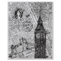 Резиновый фоновый штамп London background, Hero Arts, 1 шт, размер 12х15 см, CG424