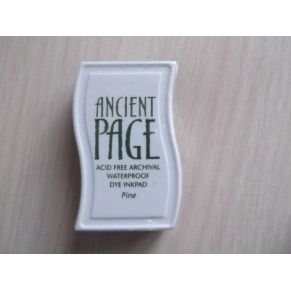 Чернила Ancient Page Full Size Inkpad – Pine, Clear Snap, ch_21