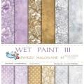 Набор бумаги Wet Paint III, 30х30см, 12 листов, Galeria Papieru, gp002