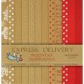 Набор бумаги Express Delivery, 30х30см, 12 листов, Galeria Papieru, gp003