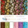 Набор бумаги Colorful Meadow, 30х30см, 12 листов, Galeria Papieru, gp004