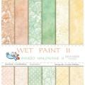Набор бумаги Wet Paint II, 30х30см, 12 листов, Galeria Papieru, gp010