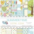 Набор бумаги Summer Time, 30х30см, 12 листов, Galeria Papieru, gp202