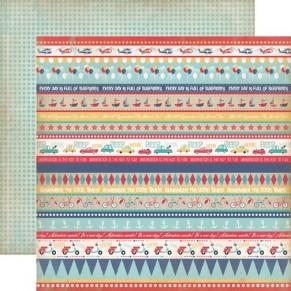 Двухсторонний текстурный картон, 30х30 см, №1