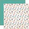 Двухсторонний текстурный картон, 30х30 см, №3