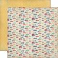 Двухсторонний текстурный картон, 30х30 см, №4