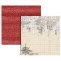 Двухсторонний текстурный картон, 30х30 см, №6